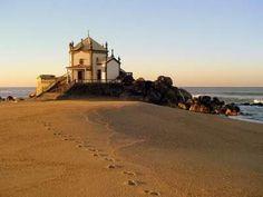 Praia de Miramar (V.N.de Gaia) - Capelinha