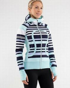 Lululemon Yoga Scuba Hoodie Blue Navy Stripe [YA136] - $56.69 : Cheap LuluLemon Athletica, Lululemon Outlet Yoga