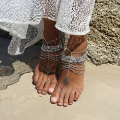 Sunny Barefoot Sandals