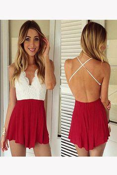 4a102833a8e Online Shop Hot Women Jumpsuit Vestidos 2015 Jumpsuit Women Fashion Sexy  Hollow Out Backless Summer Stripe Lace Jumpsuit Shorts Feminino