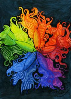 26 Best Color Wheel Drawing Practice Examples Images On Pinterest