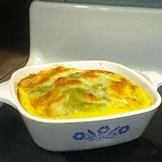 Green Chili Casserole Recipe - Layers of canned green chiles and cheddar cheese are baked with an egg filling. This casserole is also great when made with fresh long green chiles. Makes a wonderful brunch dish, but we also have it for lunch quite often. Green Chile Egg Casserole, Chili Relleno Casserole, Breakfast Casserole, Breakfast Recipes, Breakfast Time, Breakfast Ideas, Avocado Breakfast, Brunch Ideas, Mexican Dishes