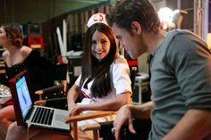 The Vampire Diaries - Behind the scenes