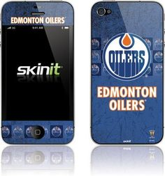Skinit Edmonton Oilers Vintage Vinyl Skin for Apple iPhone 4 / 4S by Skinit. $11.99. IMPORTANT: Skinit skins, stickers, decals are NOT A CASE. Our skins are VINYL SKINS that allow you to personalize and protect your device with form-fitting skins. Our adhesive backing can be applied and removed with no residue, no mess and no fuss. Skinit skins are engineered specific to each device to take into account buttons, indicator lights, speakers, unique curvature and will not inter...
