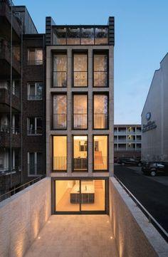 cartografico:  LK Architekten | Vivienda Unifamiliar y Oficina | Colonia; Alemania | 2009