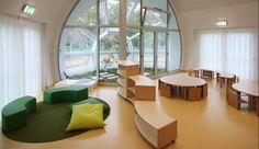 Soft pre-school furnishing by Gonzagarredi