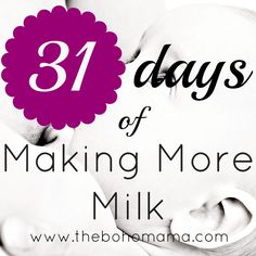 Day 22: Foods & Herbs To Avoid While Breastfeeding {31 Days of Making More Milk}