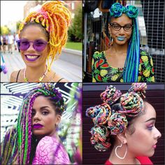 multicolored rainbow Box Braids will be impressed with //  #braids #impressed #multicolored #rainbow