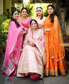 Punjabi Girls, Punjabi Suits, Neck Designs For Suits, Ghagra Choli, Punjabi Wedding, Wedding Story, Indian Designer Wear, Wedding Suits, Anarkali