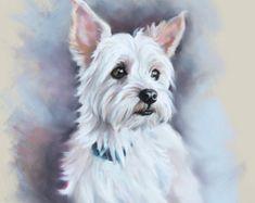 Große Größe benutzerdefinierte Pastell Portrait von BograArt