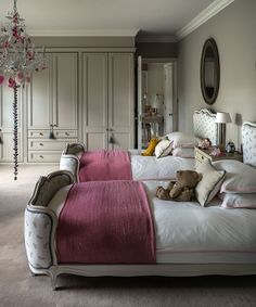 Undaunted by the challenges of transforming a farmhouse, its new owners have been rewarded with an elegant family home. Cambridge House, Country House Interior, Country Homes, Farmhouse Renovation, Interiors Magazine, Bedroom Images, Headboard And Footboard, Bedroom Colors, Country Decor