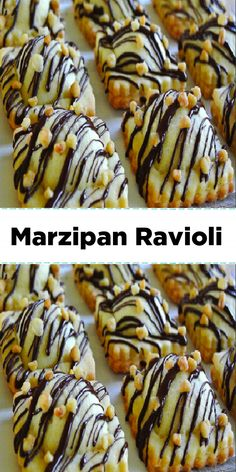 Marzipan, Ravioli, Tea Cakes, Christmas Treats, Cake Cookies, Food Hacks, Amazing Cakes, Food And Drink, Cooking Recipes
