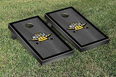 Northern Kentucky NKU Norse Cornhole Game Set Onyx Stained Border Version >>> Read more  at the image link.