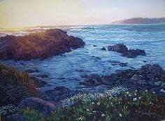Carmel by the Sea Original Pastel on Paper 16 x 20
