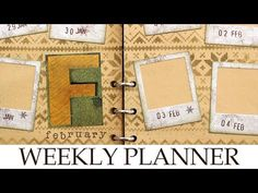 My BULLET JOURNAL / WEEKLY PLANNER 2018 - February Weekly Spreads - YouTube
