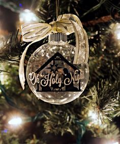 Labelhome decor search results silhouette blog silhouettes and make this gorgeous christmas ornament yourself perfect for an enrichment activity super saturday solutioingenieria Choice Image