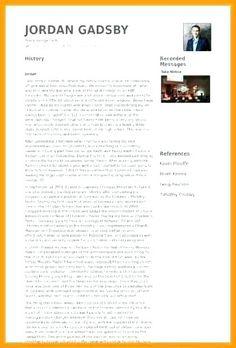 Wordpress Resume Template Resume Template Resume Design Template Resume Template Word