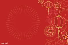 Chinese new year 2019 greeting background | free image by rawpixel.com / Adj
