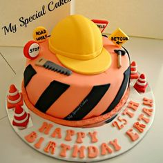 .@myspecialcakes | Construction Cake | Webstagram