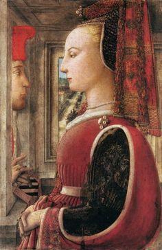 1440 : Un homme et une femme de Fra Filippo Lippi (1406-1469), provenant du Metropolitan Museum à New-York