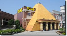 The Tomb At Waldens Landing Pigeon Forge TN