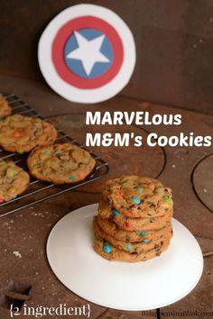 MARVELous M&M's Cookies  |  ItHappensinaBlink.com  |  #shop #cbias #HeroesEatMMS  |