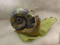 Улитк Федя керамика - улитк федя,улитка,Керамика,полимерная глина,керамика ручной работы