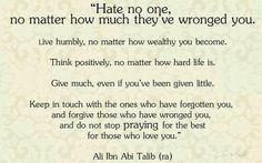 Imam Ali Ibn Abi Talib (ra)