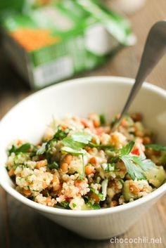 Quinoa Tabbouleh // Chocochili.net