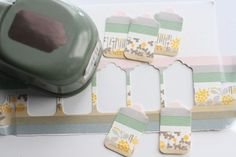 Washi tape tag - Tutorial  Or use Ribbons, lace, paint, etc.
