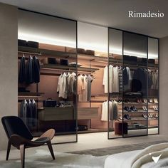Luxury Bedroom Sets, Modern Luxury Bedroom, Luxurious Bedrooms, Walk In Closet Design, Wardrobe Design, Closet Designs, Dressing Room Closet, Dressing Room Design, Italian Furniture Brands