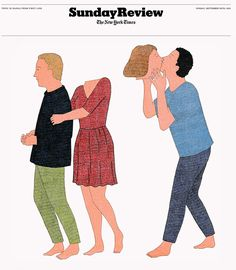 Illustrations parues dans le Nytimes - Marion Fayolle