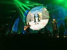 Brit Floyd performing at Cross Insurance Center in Bangor, Maine.