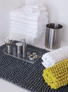 stainless steel bath accessories | CB2