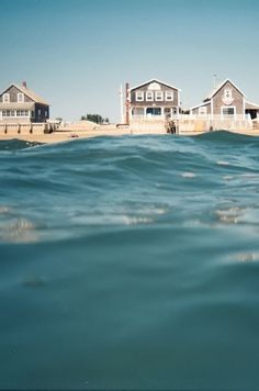 Summer Cottages along the beach