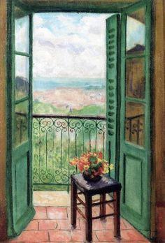 Albert marquet street lamp arcueil 1899 marquet for Matisse fenetre ouverte