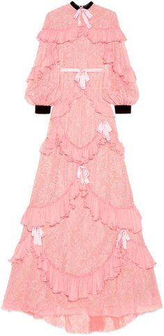 Chantilly lace gown $14,000