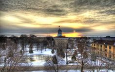 Lawrence University, Appleton, Wisconsin during the beautiful winter months!