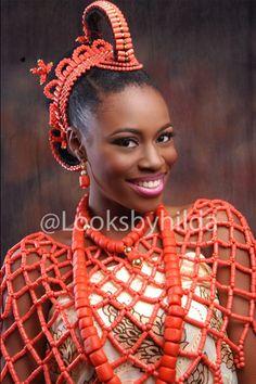 Looks by Hilda   Benin Edo Bridal Makeup   BellaNaija 016