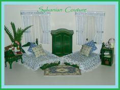 Sylvanian Families Decorated Vintage Bedoom Set Plus Many Accessories | eBay