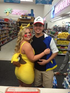 Pikachu and Ash Costume #designsbyCaya