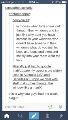 The reason we don't have screens in Europe