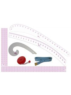 PGM Fashion Student Kit : Grading Rulers Hip Curve by PGMDressForm