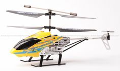 The Nano Hercules, by World Tech Toys, is unbreakable. This small RC helicopter's body can take up to 200 pounds of force. You can even step on it, and it won't break.