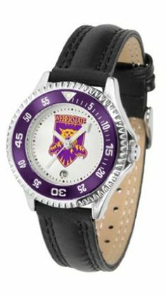 Weber State Wildcats Competitor Ladies Watch with Leather Band by SunTime. $74.55. The hottest sports watch on the market, the Competitor features the Weber State Wildcats team logo boldly displayed on the dial along with a colorful rotating timer/bezel, quartz accurate movement and leather/nylon strap. The combined leather underneath and nylon on top makes the watch water resistant as well.¶Wear it to a game, while watching a game or just to show off your NC...