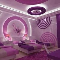 Awesome Purple Bedroom