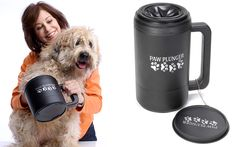 A portable and affordable paw washer that banishes paw prints from your home The snow is melting, the ground is wet and mud covers every inch of the outdoors. Yep, spring is almost here, and you know what that means… muddy paw prints all over your house. You can stop your dirty dog in her [...]