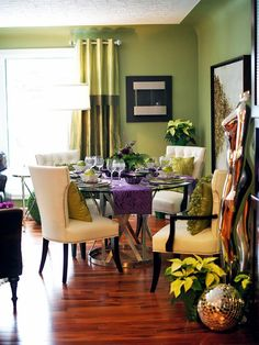 Eclectic | Dining Rooms | Jennifer Ellen Frank : Designer Portfolio : HGTV - Home & Garden Television