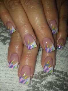 Acrylic nails by Yvonne Rodgers