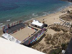 Pista Central. Playa D'en Bossa (Ibiza).